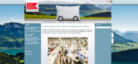 Website von Suisse Caravan Salon