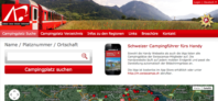 Website von Swisscamps